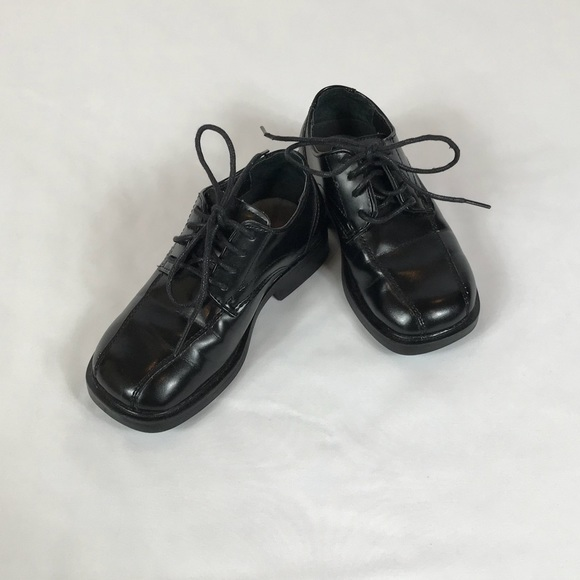 Deer Stags Shoes Little Boys Black Dress Euc Poshmark